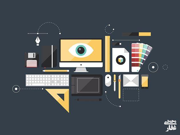 فرق بین گرافیک دیزاین و طراحی گرافیک چیست؟