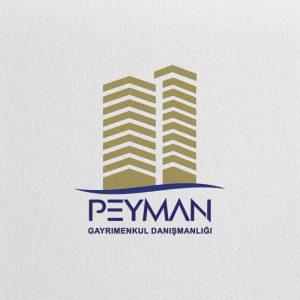 طراحی لوگو املاک پیمان