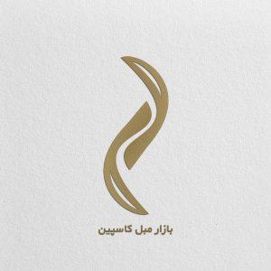 طراحی لوگو بازار مبل کاسپین