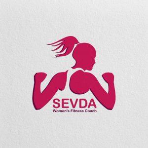 طراحی لوگو سودا فیتنس