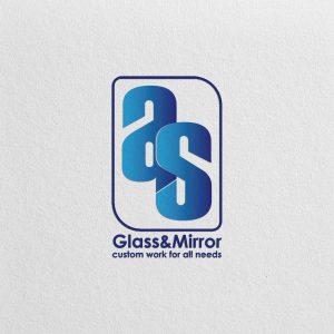طراحی لوگو شیشه و آینه
